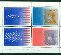 1976 US BICENT MIN SHEET