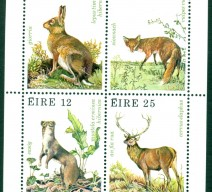 1980 WILDLIFE MIN SHEET