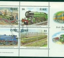 1984 RAILWAYS MIN SHEET USED
