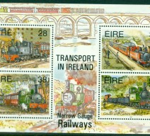 1995 NARROW GAUGE RAILWAYS MIN SHEET